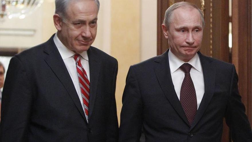Netanyahu y Putin hablaron sobre Siria tras el bombardeo en el que murió Qantar