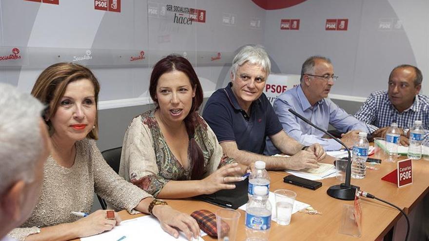 Reunión de la Ejecutiva Regional del PSOE. (EFE)