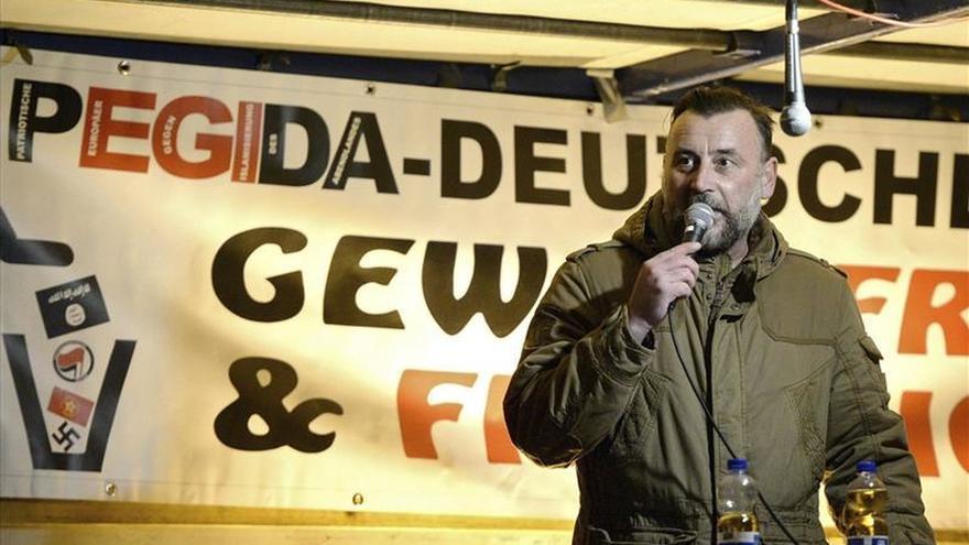Alemania investiga al jefe de Pegida por comparar a un ministro con Goebbels