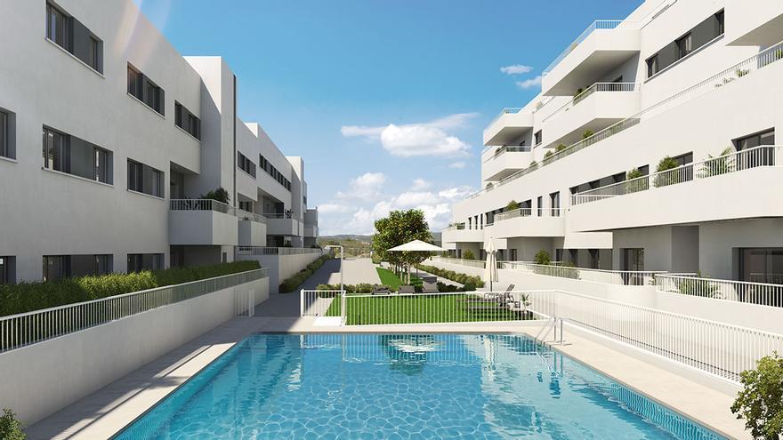 Complejo residencial Célere Mirabueno, a un paso de la naturaleza y del centro de la ciudad