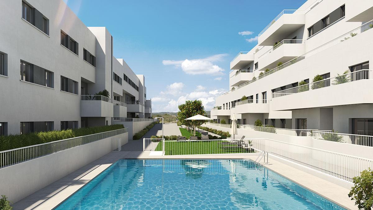 Promoción de viviendas Vía Celere