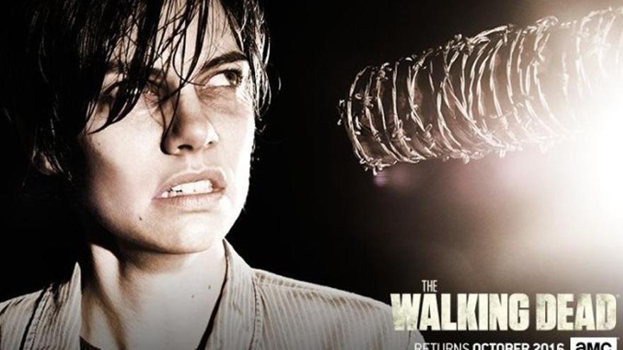 Maggie se 'desahoga' al hablar de Negan en 'The Walking Dead'