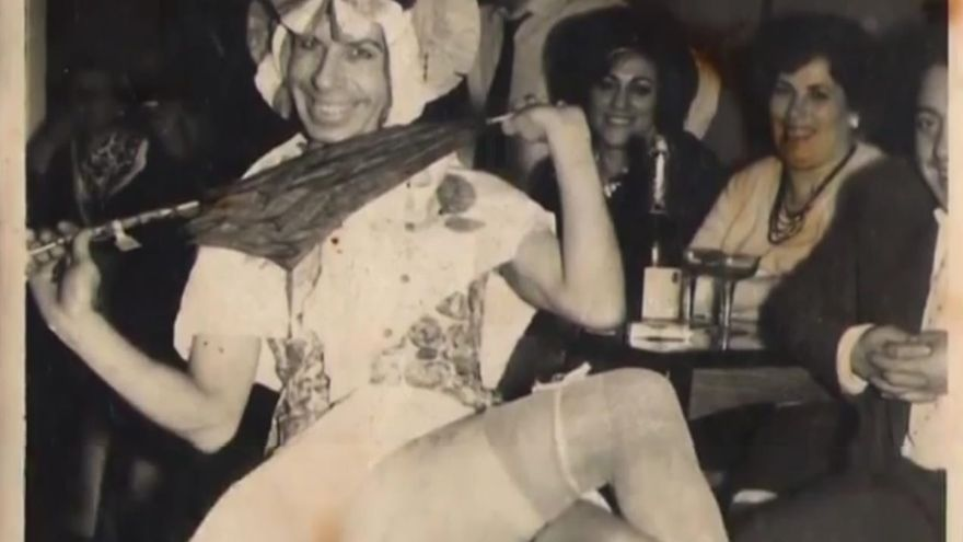 Rambal, en uno de sus espectáculos en Cimavilla