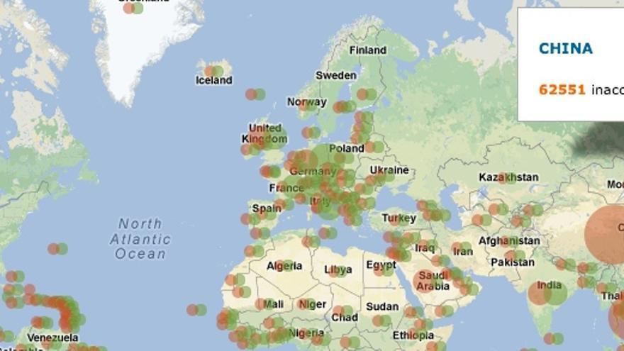 Herdict, censura en Internet en tiempo real