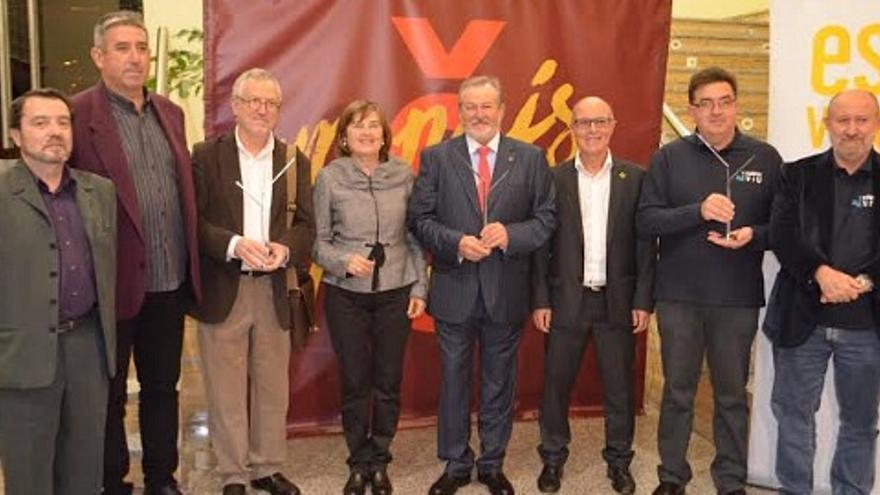 Escola Valenciana guardona a Josep Chaqués, l'Associació d'Editors del País Valencià i Xúquer Viu en la XIIIa Nit.