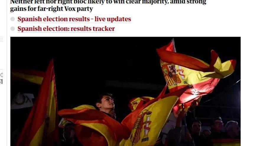Un votante de Vox, en the Guardian.