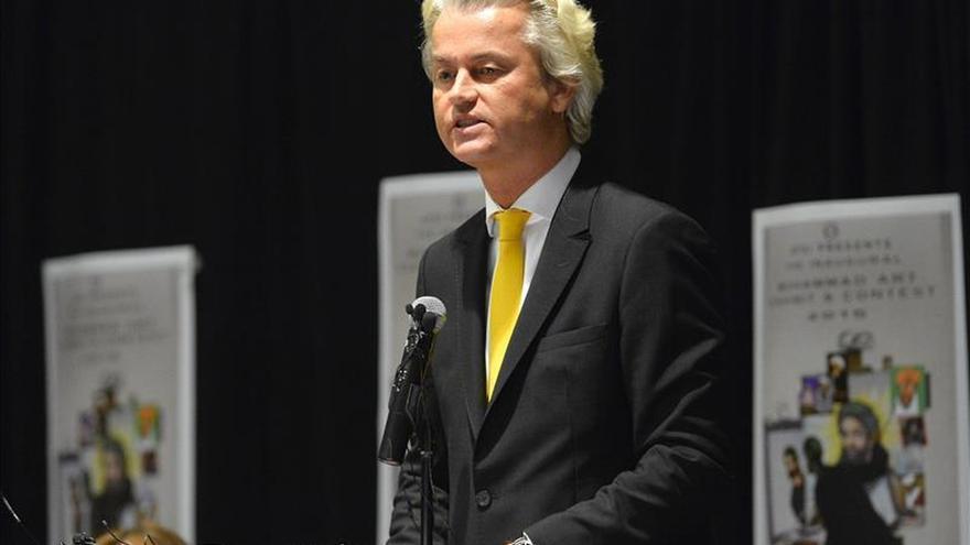 """Geert Wilders ve """"inaceptable"""" el ataque a libertad expresión en Garland"""