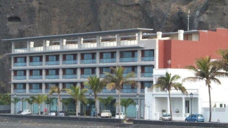 En la imagen, edificio de Los Tarajales, en Tazacorte.