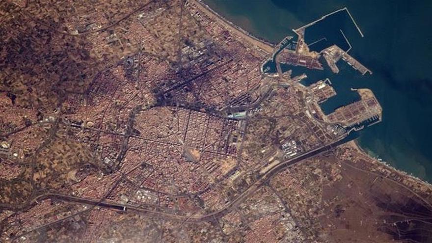 La ESA fotografía las cuatro mayores ciudades de España desde el espacio