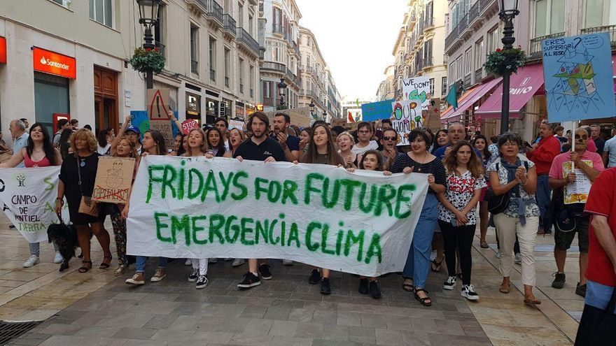 Fridays for Future, en Málaga