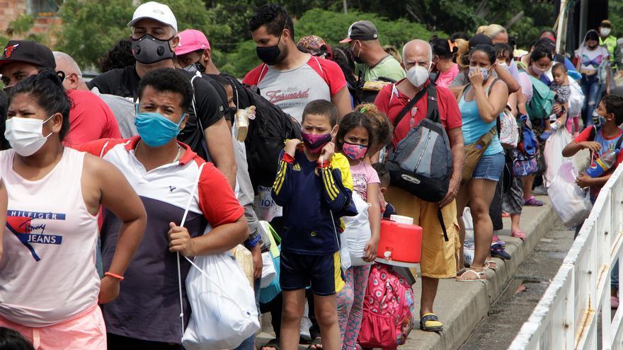 España aporta 17 millones de euros para atender la crisis migratoria venezolana