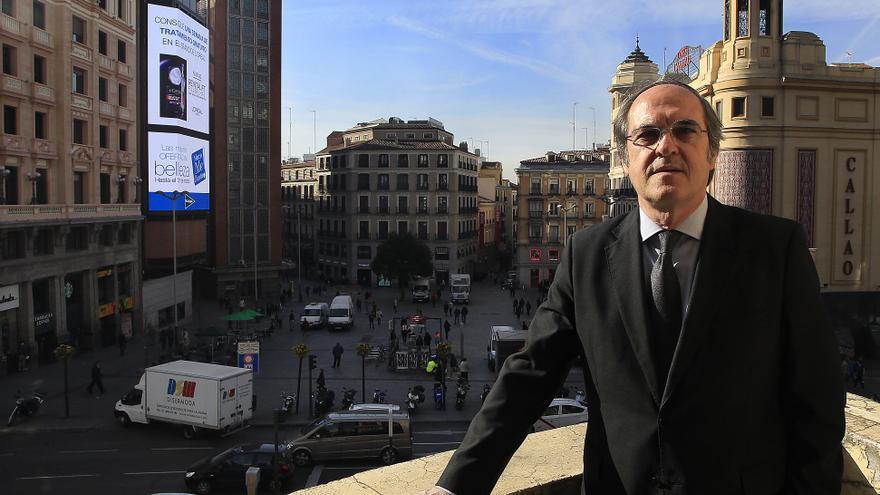 Ángel Gabilondo, candidato del PSOE a la presidencia de la Comunidad de Madrid. / Marta Jara
