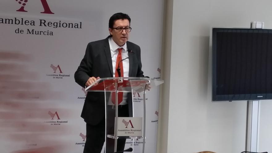 Juan José Molina, diputado de Ciudadanos en la Asamblea Regional de Murcia