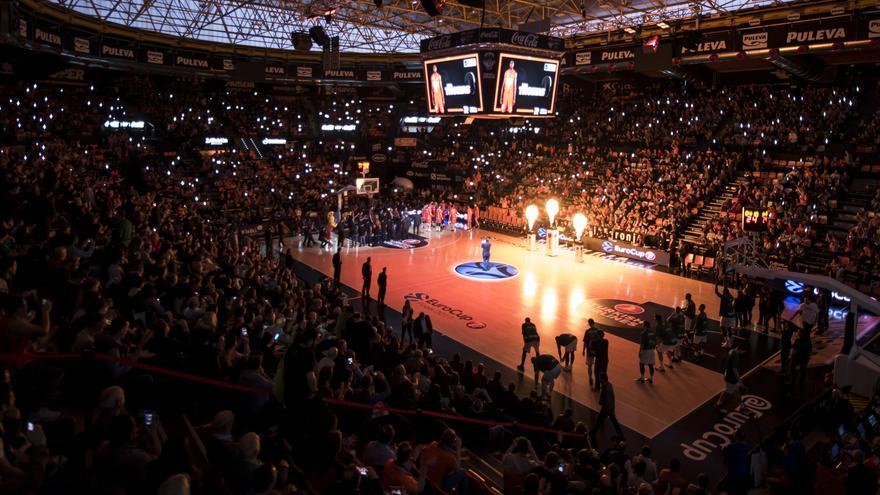 La Fonteta, pavelló del València Basket.