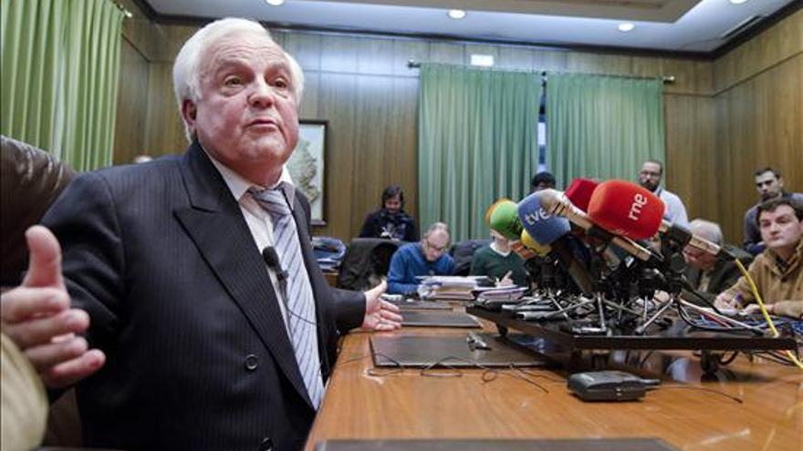 El expresidente de la Diputación de Ourense José Luis Baltar Pumar en una foto de archivo / EFE