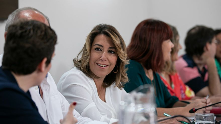 """Susana Díaz, tras la subida del paro en agosto: """"Siguen los datos preocupantes sobre la economía andaluza"""""""