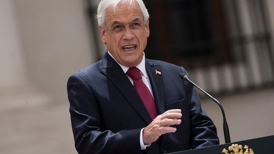 """""""Ninguna causa justifica la violencia"""", dice Piñera sobre el conflicto mapuche"""
