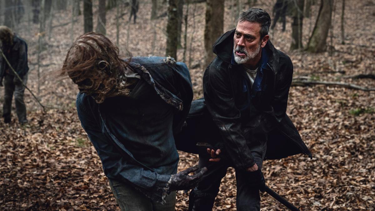 Escena de la temporada 11 de 'The Walking Dead'