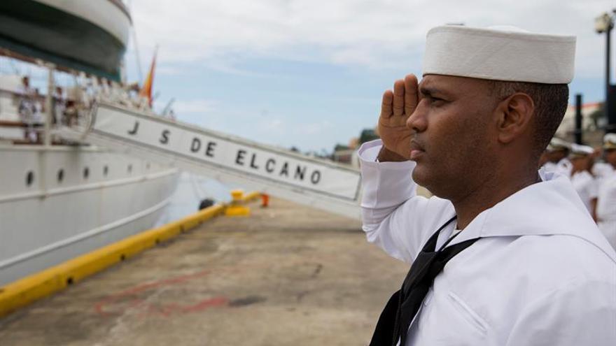 """El buque """"Juan Sebastián Elcano"""" zarpó desde Santo Domingo rumbo a Nueva York"""
