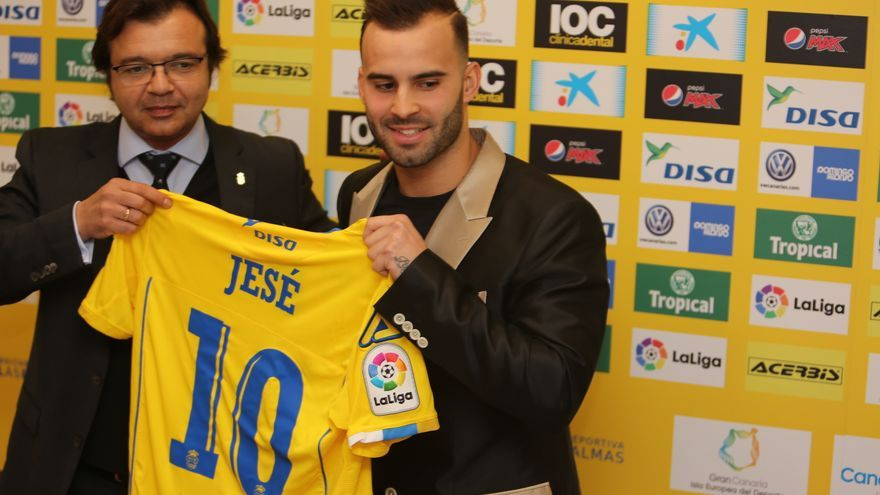 Presentación oficial de Jesé. Alejandro Ramos.
