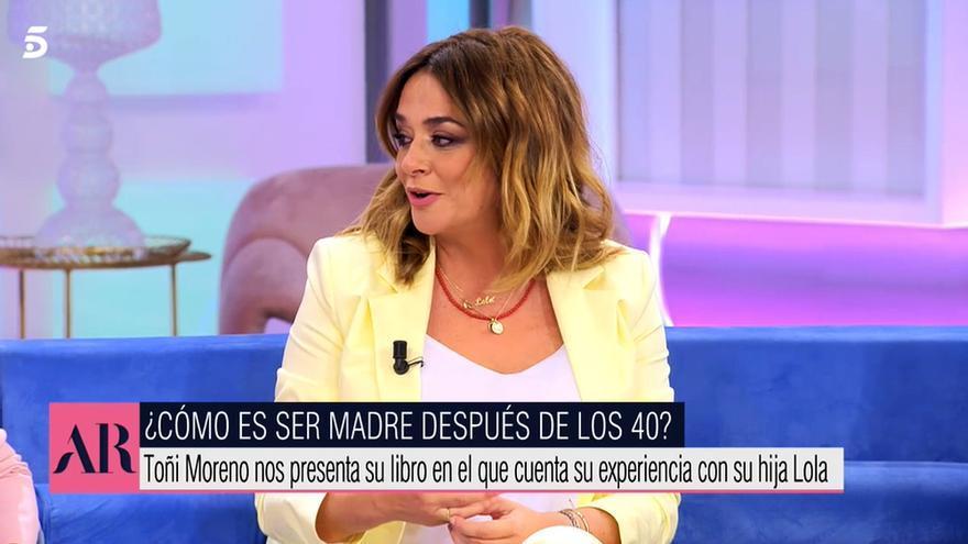 Toñi Moreno en 'El programa de AR'