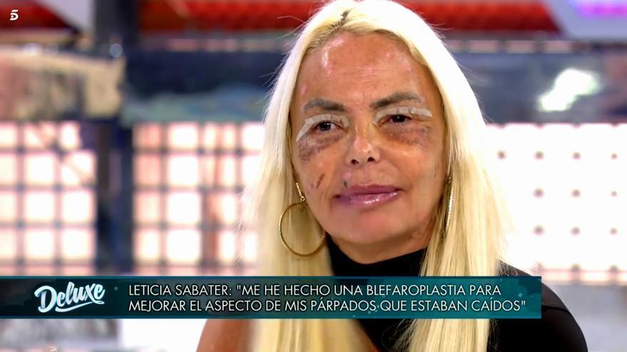 Leticia Sabater, en 'Sábado deluxe'