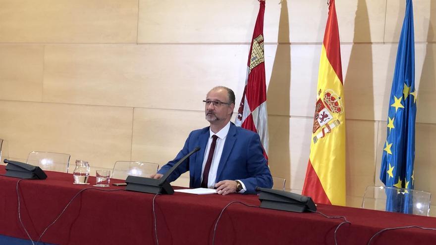 Luis Fuentes, durante la rueda de prensa.