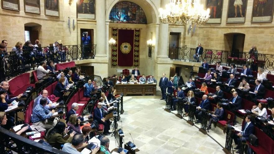 Las Cuentas de Bizkaia siguen adelante tras rechazar PNV y PSE las tres enmiendas a la totalidad de la oposición