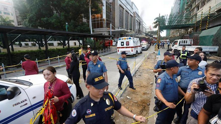 Al menos 34 muertos en un asalto a un casino en Manila, según la Policía filipina