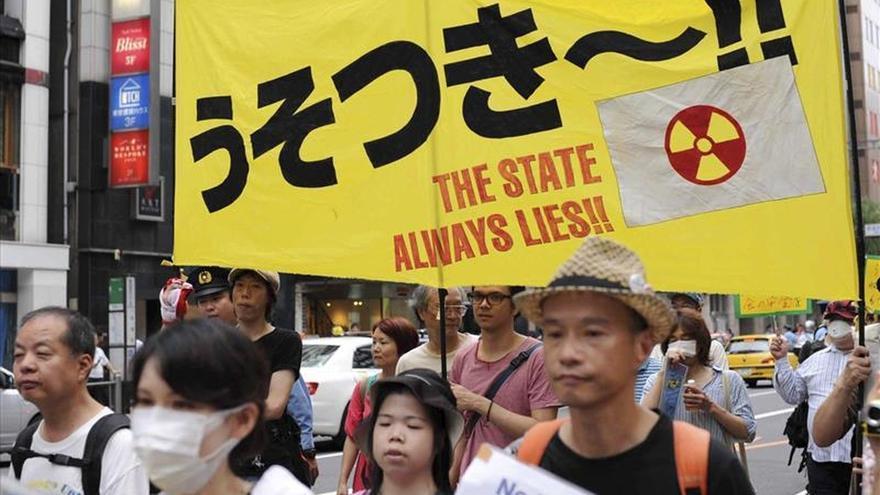 Arranca en Japón una marcha en protesta por la reactivación de una nuclear