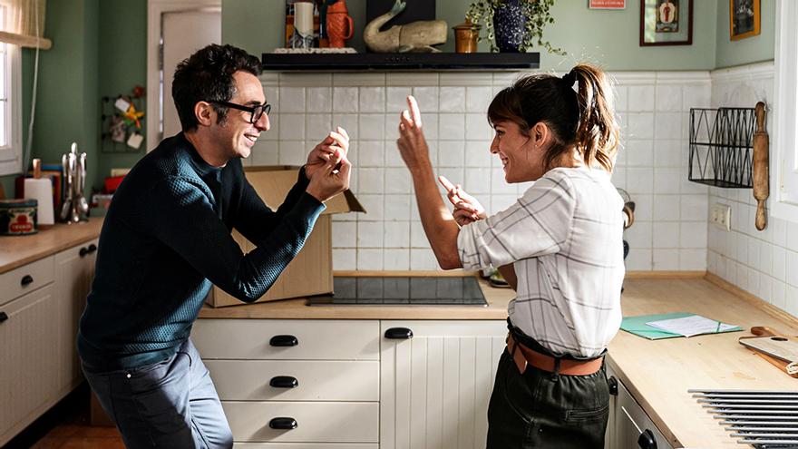 Berto Romero y Eva Ugarte, en la tercera temporada de 'Mira lo que has hecho'