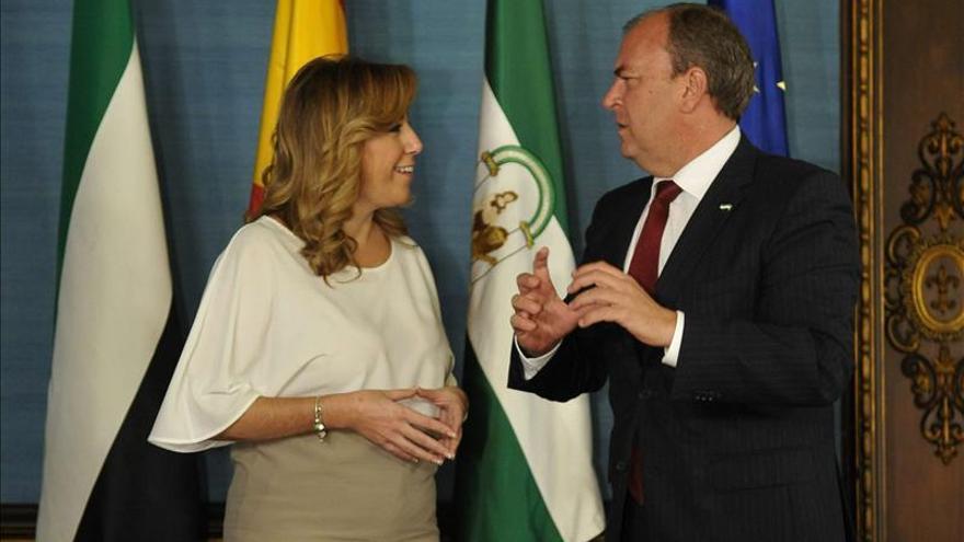 Díaz y Monago piden un diálogo multilateral y nivelar los servicios con financiación