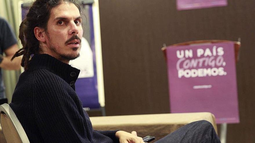 Alberto Rodríguez, diputado electo de Podemos por la provincia de Santa Cruz de Tenerife / Cristóbal García/EFE