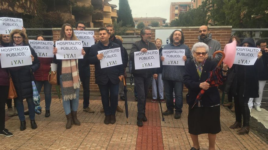 """Los sindicatos reprochan """"el barullo administrativo"""" y """"la falta de voluntad política"""" para abrir el Hospitalito del Rey"""