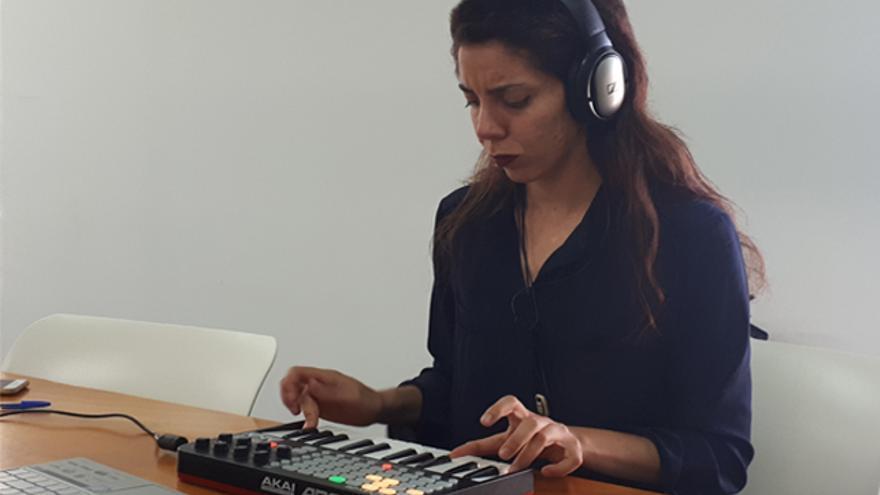 La artista Sofía Bertomeu
