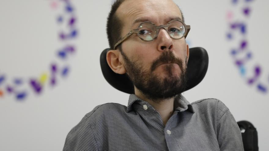 Echenique descarta un nuevo gobierno en la Comunidad de Madrid porque Cs no apoyará la moción de censura a Cifuentes
