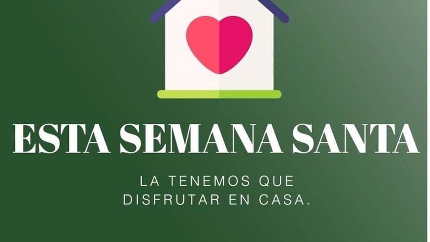 Gobierno Vasco difunde la campaña 'Esta Semana Santa quédate en casa'