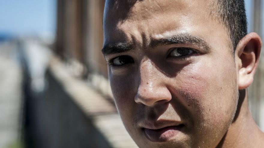 Mohamed vive juntos en un piso con otros chicos en la misma situación.jpg/J. Blasco de Avellaneda