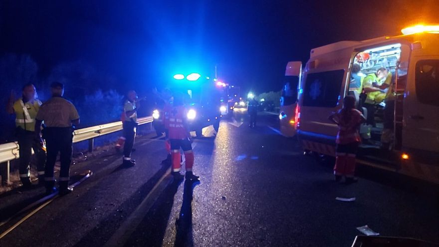acidente Extremadura