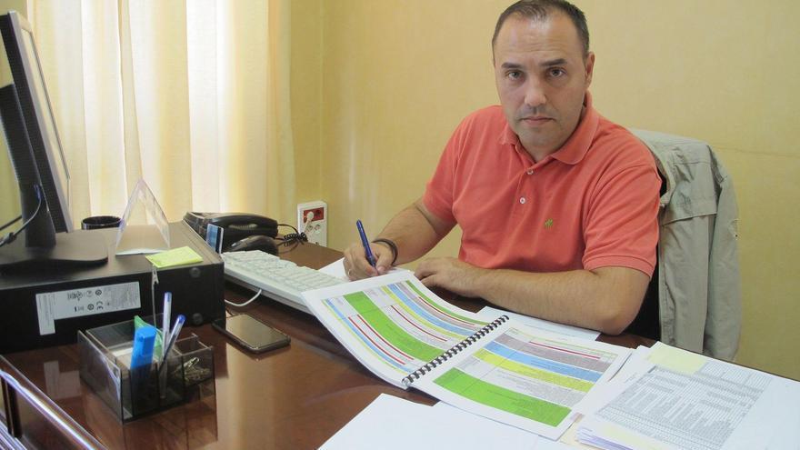 Luis Javier Camacho, consejero de Hacienda y Recursos Humanos del Cabildo de La Palma.