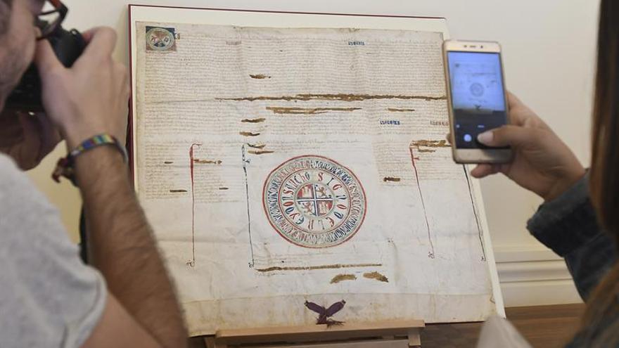 León recupera un documento expedido por el rey Sancho IV en 1293