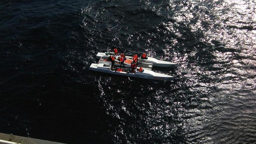 Rescate de la embarcación 'Orca II'