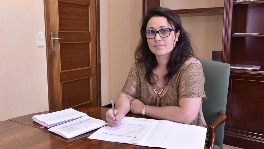 Carmen Brito, consejera de Emergencias y Participación Ciudadana del Cabildo de La Palma.