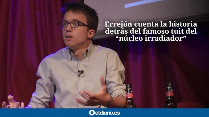 Íñigo Errejón durante el evento de eldiario.es