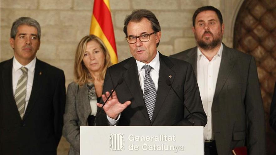 Mas asegura que por mucho que intenten parar la voz del pueblo de Cataluña no lo lograrán