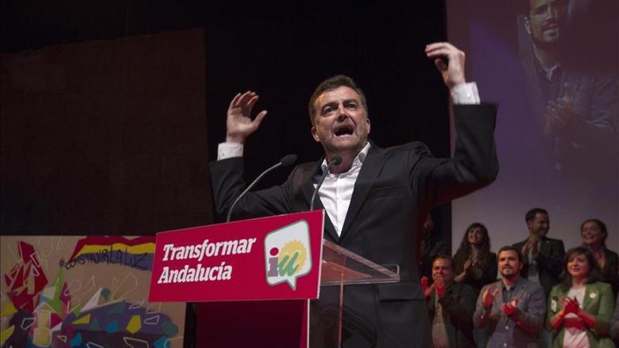 IU no apoyará la investidura de Díaz y estudiará si la rechaza o se abstiene