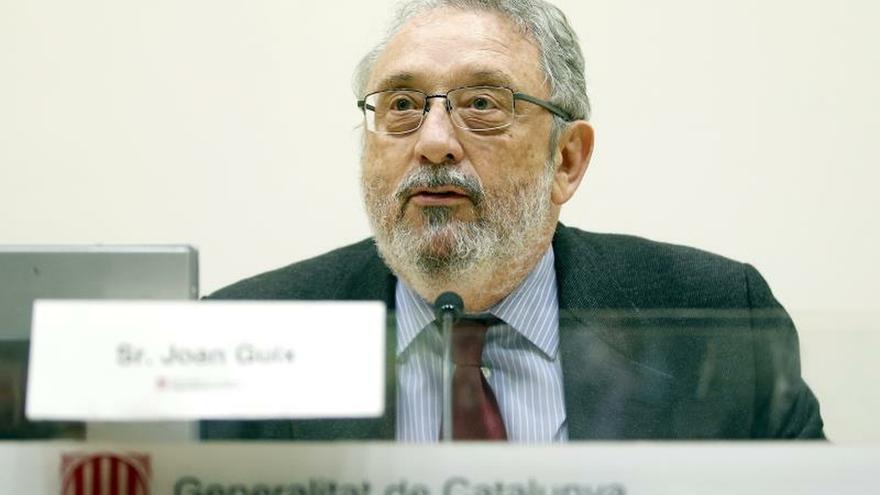 El secretario general de Salud de la Generalitat, Joan Guix
