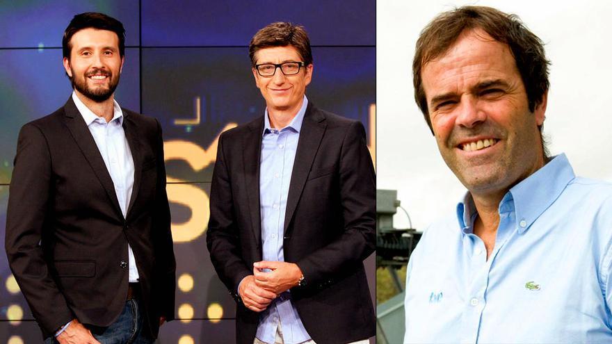 Juan Carlos Rivero y Paco Grande, de TVE, se enganchan en Twitter por 'Estudio Estadio'