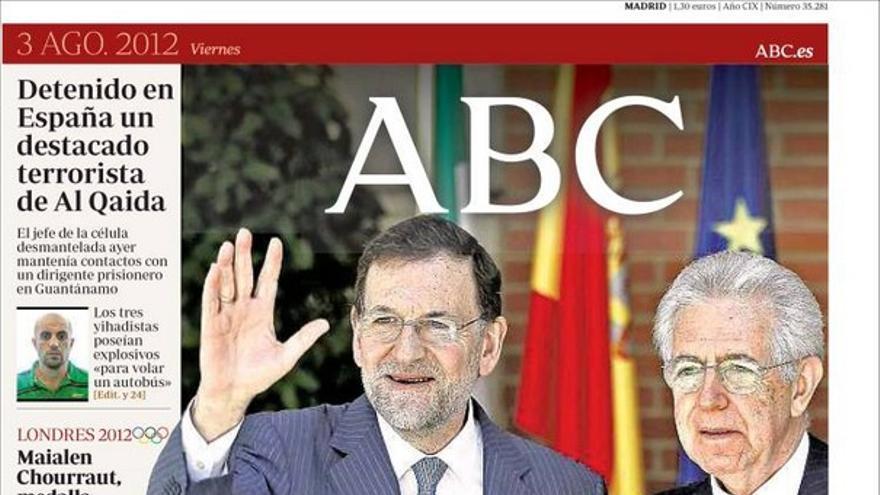 De las portadas del día (03/08/2012) #6