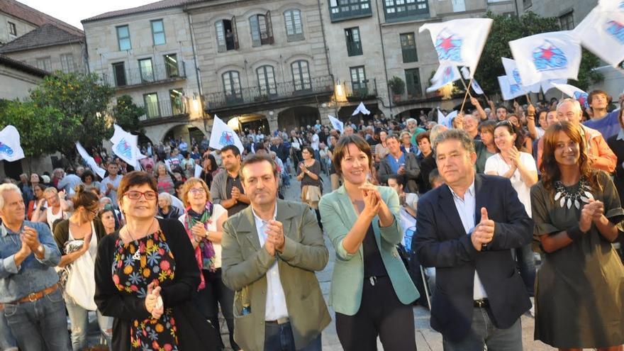 Mitin del BNG en Pontevedra